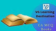 CA Final MCQ Books November 2019 Exams | VG Learning Destination