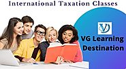 Certificate Course on International Taxation - VG Learning Destination