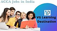 Jobs in India - ACCA Careers - VG Learning Destination