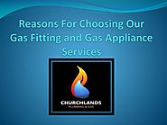 Reasons For Choosing Our Gas Fitting and Gas