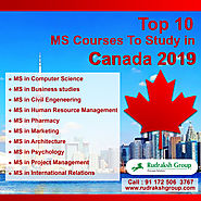 Top 10 MS Courses To Study in Canada 2019