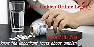Buy Ambien Online Legally | Ambien Without Prescription