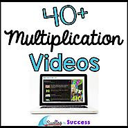 40 Multiplication Videos for your Classroom - Surfing to Success