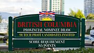 The Latest Draw of British Columbia invited 91 Candidates in the Tech Pilot
