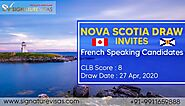 French Speaking Candidates invited by Nova Scotia in Latest Draw