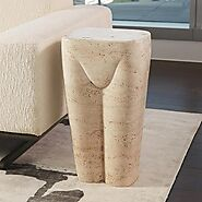 Global Views Femme Stool | Buy Accent Stools At Grayson Luxury