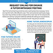 Request Online for Engage a Tutor with Ease Posting
