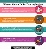 Different Kinds of Online Tutoring Services