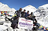 Everest Base Camp Trek: trek Everest base camp with sherpa