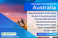 Advantages of Immigration to Australia