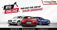 FREE - Bid Online AND Win The Car Of Your Dreams !
