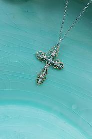 Diamond Cross Pendants and Crown Necklace- A Sparkling Gift for your Children