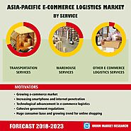 E-Commerce Logistics Market Segmentation, Forecast, Market Analysis, Global Industry Size and Share to 2023
