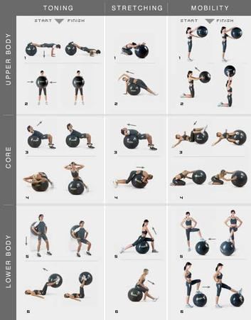 20 fitness ball workouts  tips  a listly list