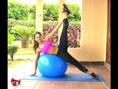 Leaner Legs-Tighter Body Workout with Fit Ball