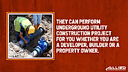 3. They can perform underground utility construction project for you whether you are a developer, builder or a proper...
