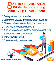 8 step you should know while developing a mobile app