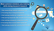 Some Mistakes While Doing Keyword Research