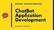 ChatBot Application Development for Enterprise
