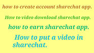 How to video download sharechat app 2019 » Alltalktime