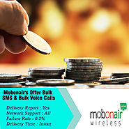 Website at https://www.mobonair.in/promotional-sms/