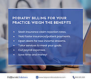Podiatry Billing For Your Practice - Weigh The Benefits
