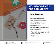 Wound Care Kits For Podiatrists