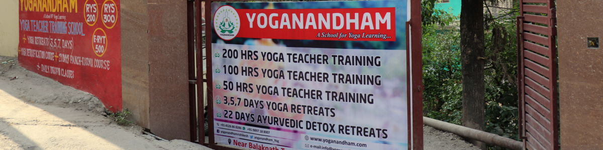Headline for Yoga in India | Yoganandham Rishikesh