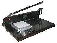"Guillotine Desktop Stack Paper Cutter COME-9770EZ - 19"" Cutting Width – Commercial Office Machinery and Equipment"