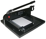 "Guillotine Desktop Stack Paper Cutter COME-5770EZ - 17"" Cutting Width – Commercial Office Machinery and Equipment"