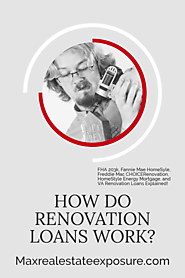 How Do Renovation Mortgages Work