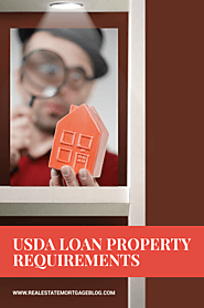 USDA Loan Property Requirements