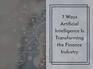 7 Ways Artificial Intelligence Is Transforming the Finance Industry - Aiiot Talk