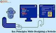 Key Principles While Designing a Website