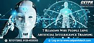 7 Reasons Why People Love Artificial Intelligence Training