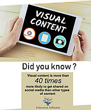 Visual Content is most Shareable Content