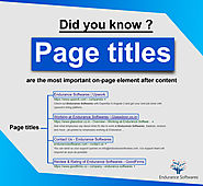 Importance of Page Title