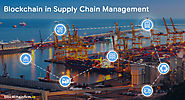 blockchain supply chain management solutions