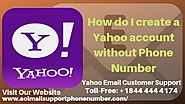 Create a Yahoo Account Without Phone Number