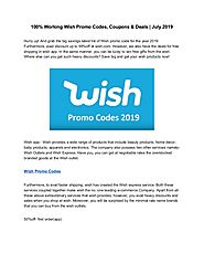 100% working wish promo codes, coupons &deals