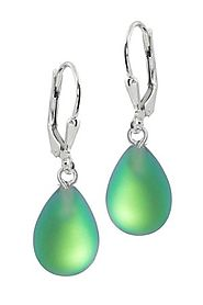 Shop For Crystal Drop Earrings | Leightworks
