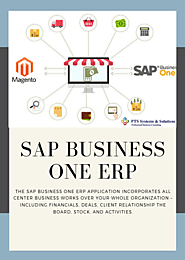 Website at http://www.ptssystems.co.in/sap_business_one/sap-business-one/