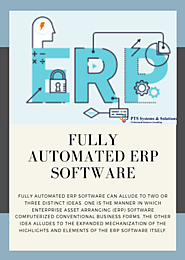 Fully Automated ERP Software