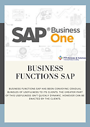 Business Functions SAP