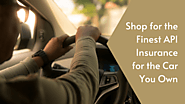 Shop for the Finest API Insurance for the Car You Own – Bridgenetins