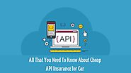 All That You Need To Know About Cheap API Insurance for Car - Bridgenetins