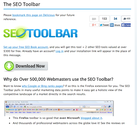 SEO Book's - SEO Toolbar