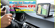 Gps-Updates: How to install a Garmin GPS for Windows