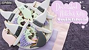 Decorated Pastel Witch Cookie Tutorial