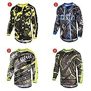Details about  Mens MTB Cycling Jersey Long Sleeves High Quality Biking Top Cycle Racing Shirt